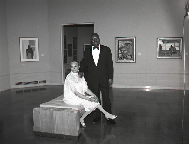 Jacob Lawrence & Gwendolyn Knight Lawrence