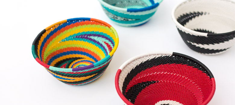 African Wire Bowls