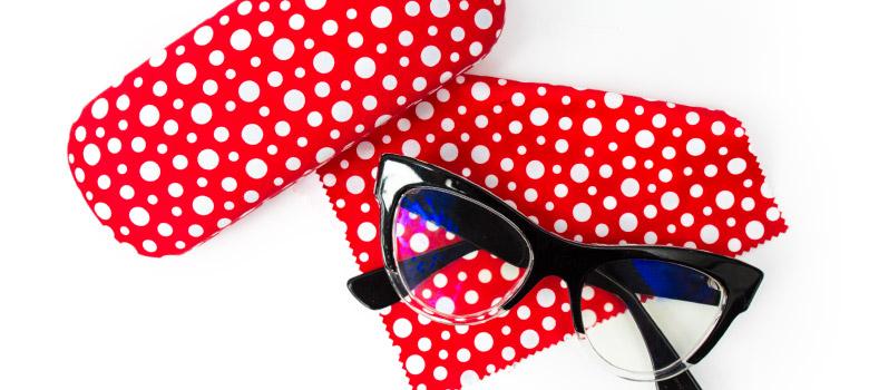 Yayoi Kusama Eyeglasses Case