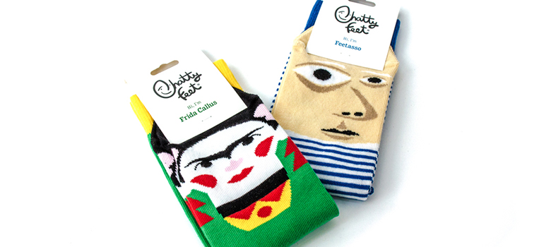 Chatty Feet artist socks