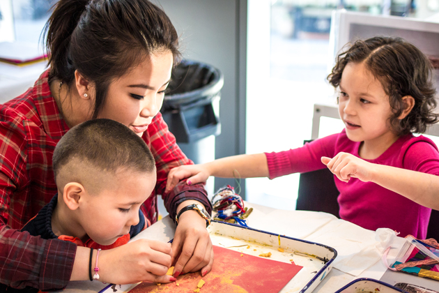Family Drop-in Art Activity
