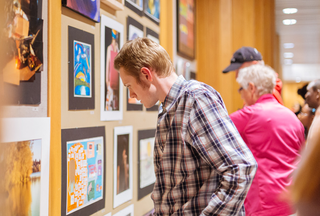SAM Volunteer Art Show