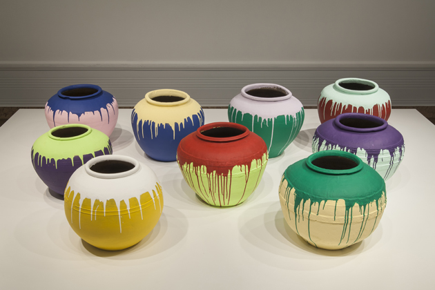 Ai Weiwei: Colored Vases
