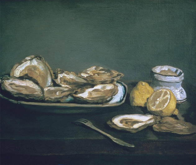 Oysters by Manet