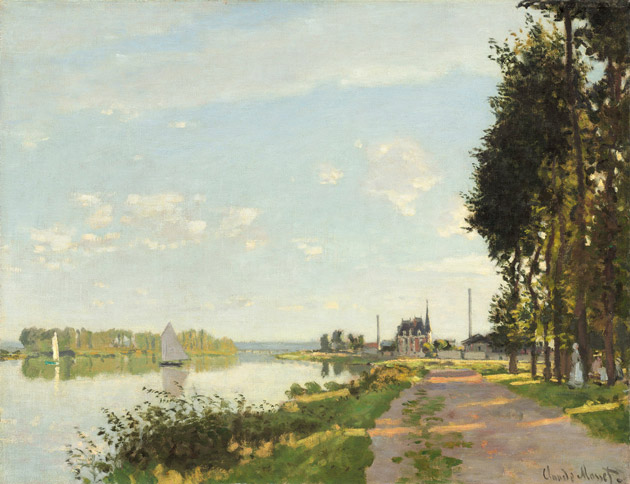 Argenteuil by Monet