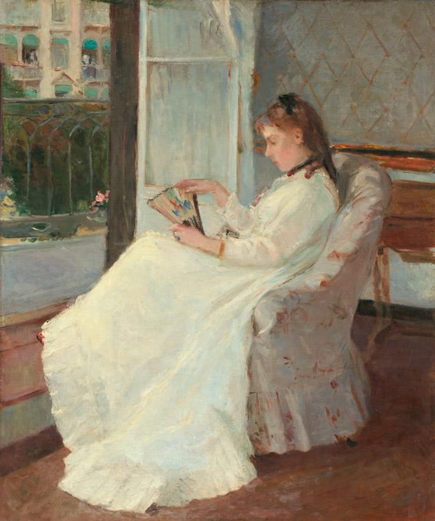 The Artist's Sister at a Window by Morisot