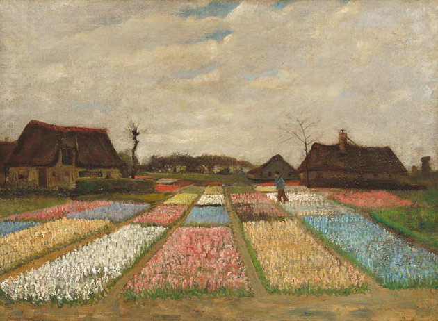 Flower Beds in Holland by Van Gogh
