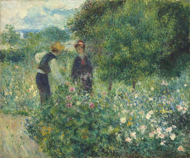 Picking Flowers by Renoir