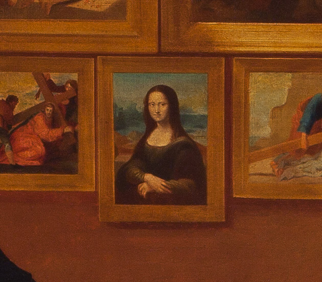 Samuel Morse Painting Gallery Of The Louvre - Visual Motley